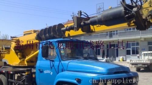 拖拉机电线杆挖坑机厂家