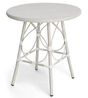 imuse小圆桌咖啡桌子茶几阳台圆桌现代中式圆桌洽谈桌酒吧桌
