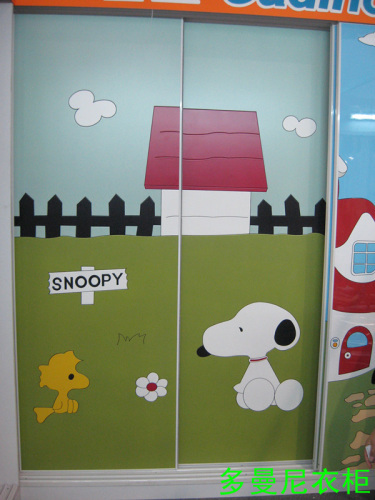 厦门儿童可爱衣柜门