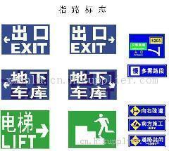 供应停车场标识