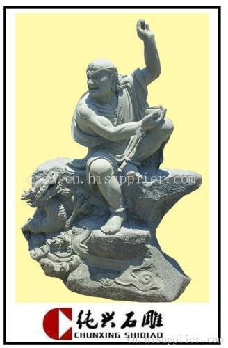 寺庙罗汉雕塑