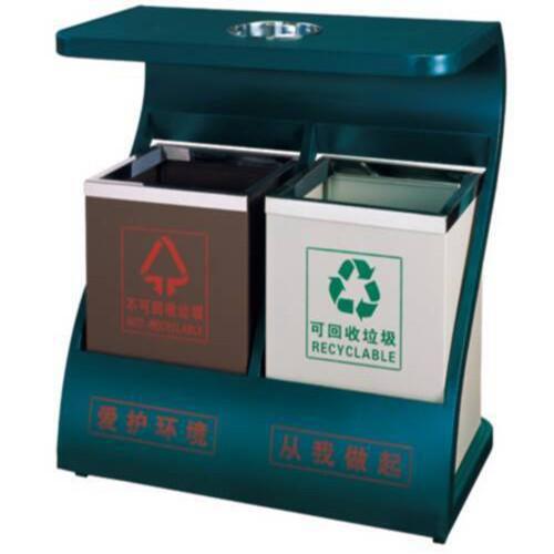 室外不锈钢分类垃圾桶|厦门鑫立昌不锈钢制品有限公司