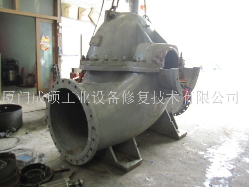循环水泵腐蚀修复