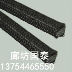 供應含油黑四氟盤根 北京含油黑四氟盤根 國泰生產