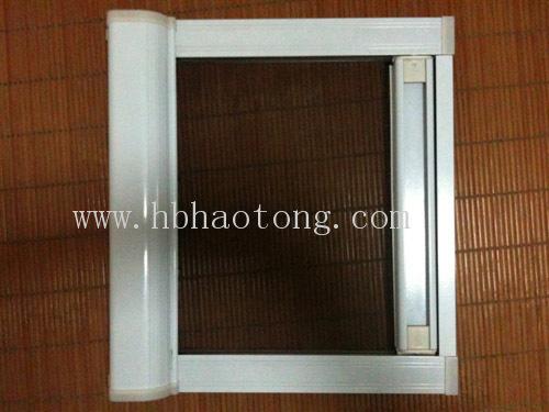 """隐形纱窗图片    磁贴固定纱窗是""""磁性边框可拆卸纱窗&rdquo"""
