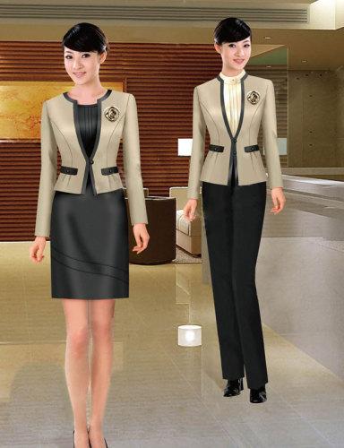 2012年新款商务服装