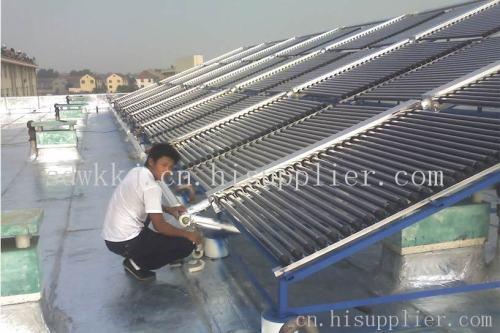 太阳能工程,真空管集热器太阳能工程厂家