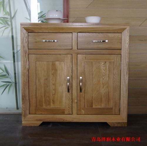 欧式实木家具白橡木家具玄关柜储物柜泽润家具多层鞋柜,隔板特价