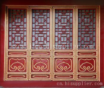 苏州古建筑艺术门窗