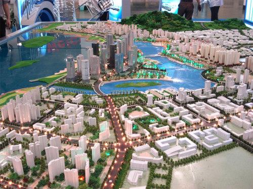 厦门建筑模型
