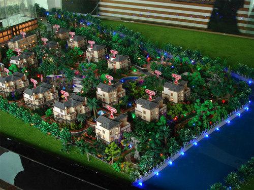 高端别墅模型