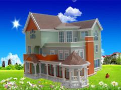 别墅模型制作