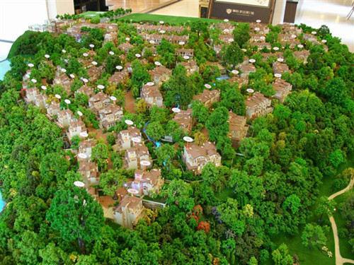 别墅模型设计
