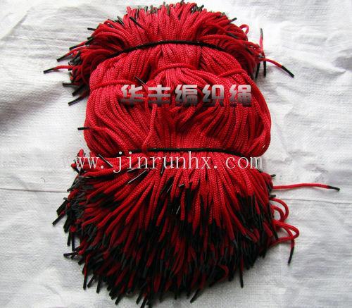 北方手工编织的围巾