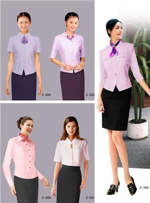 时尚女性职业装订做