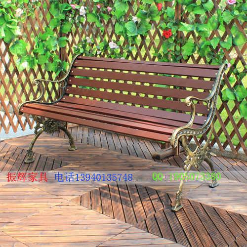 户外公园长条椅