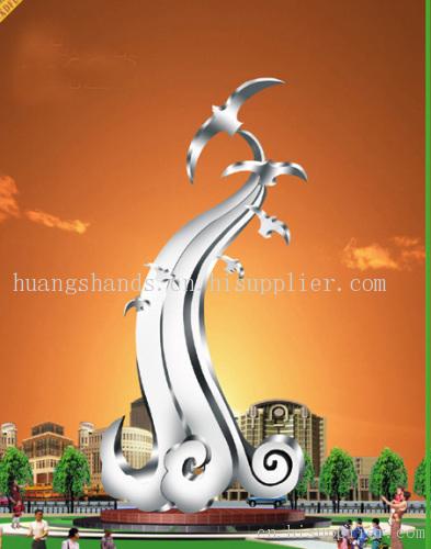 雕塑  产地: 河北省 保定市 产品摘要: 不锈钢材质具有耐空气,蒸汽,水