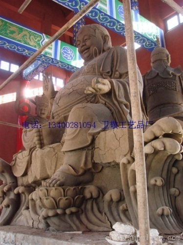 弥勒佛泥塑-海商网,雕刻和雕塑品产品库