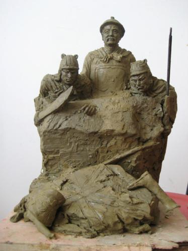 厦门古代人物雕塑