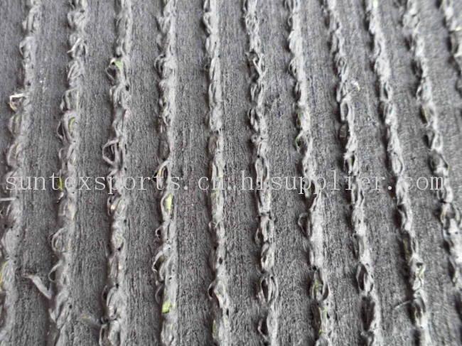 4色高密度PE+PP景观用人造草皮