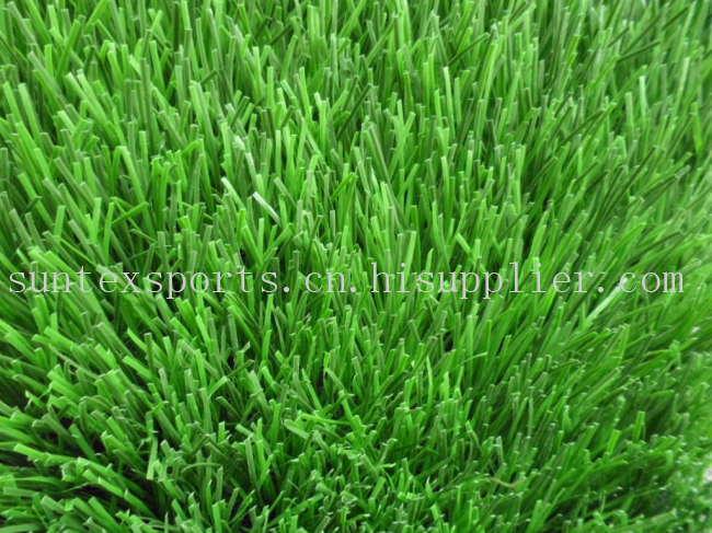 50MM 双色 PE足球场用人造草皮