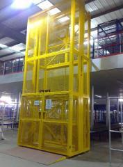 液压升降货梯的操作方法