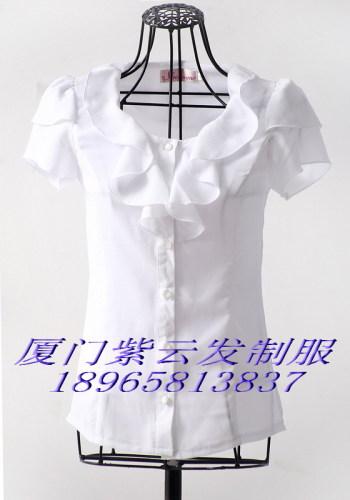 短袖衬衫裙子