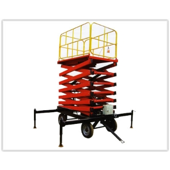 河南四轮移动式液压升降平台