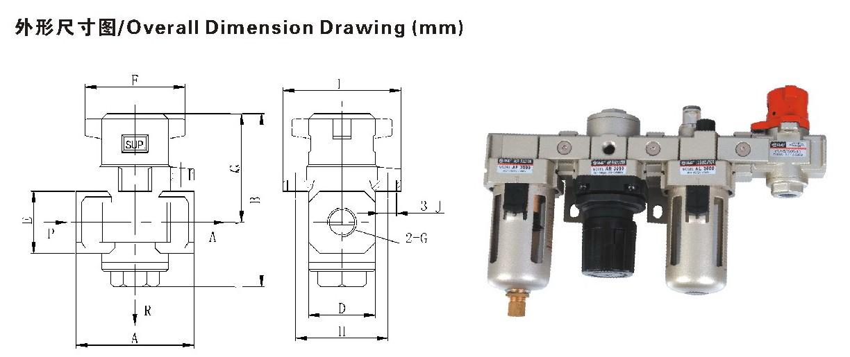 HVHS系列带锁型二位三通释放式节流阀