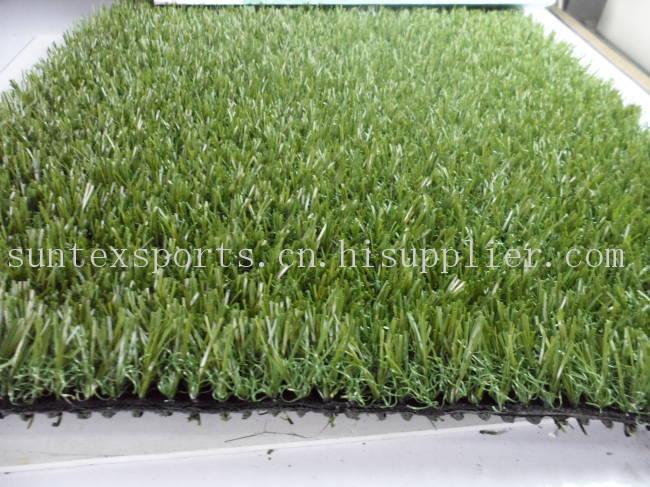 25MM  3色直曲混合景观用人造草皮