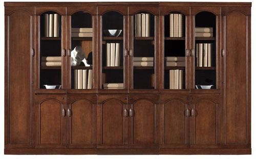 实木书柜适用场合:客厅
