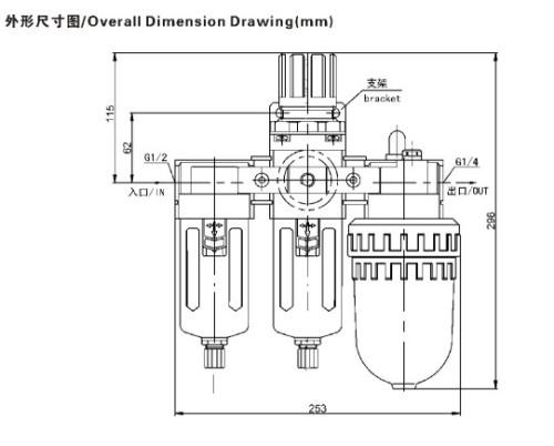 HAFWL-2大流量精密过滤有无润滑装置