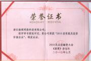 """海商网荣获浙商风云榜""""2010浙商最具投资价值企业"""""""