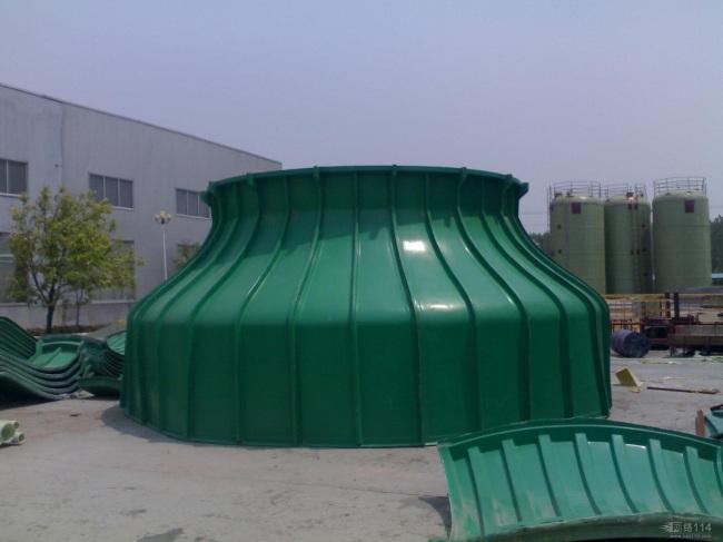 招远蓬莱玻璃钢冷却塔|圆形逆流式冷却塔