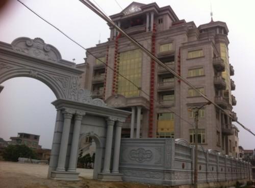 欧式别墅石材外墙装修供应商