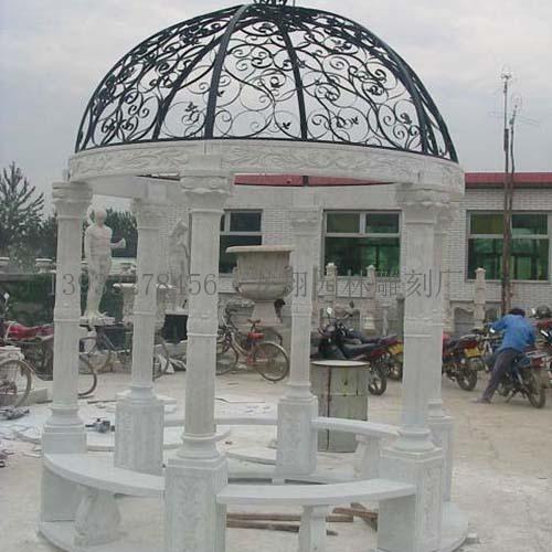 欧式公园石雕凉亭