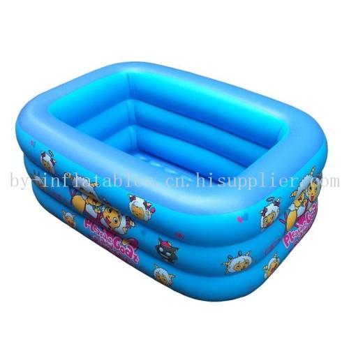 儿童充气卡通泳池