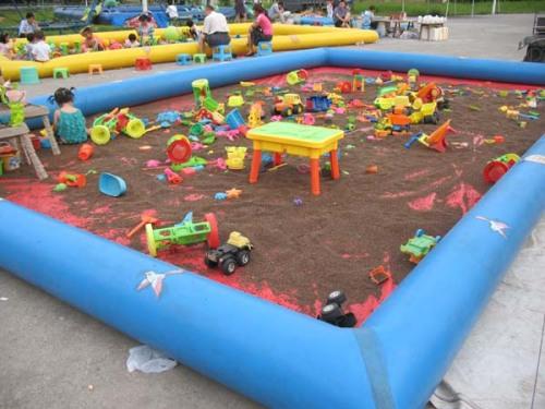 2013年儿童充气沙滩池气垫玩具多少钱
