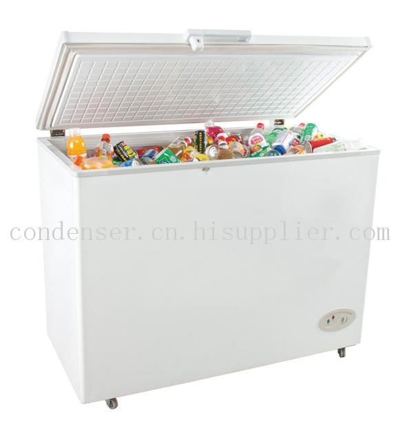 顶开单门冷冻冷藏转换型冷柜