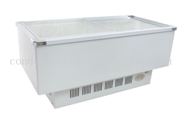 岛式商用冷冻食品陈列柜