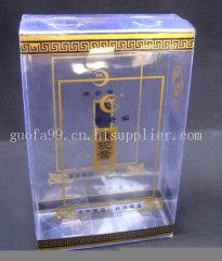 兩色印鐵觀音PVC茶葉包裝盒