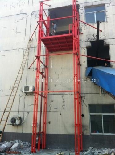 导轨式液压升降货梯-海商网图片