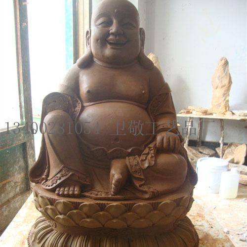 泥塑弥勒佛雕塑-海商网