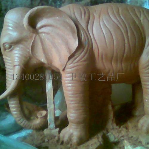 首页 工艺品 雕刻和雕塑品 泥塑大象  型号: wj-泥塑动物 产地: 河北