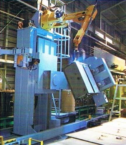 液压油箱机器人焊接图片