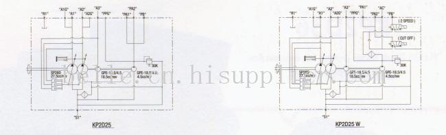 韩国进口AP2D28柱塞泵 齿轮泵 配件
