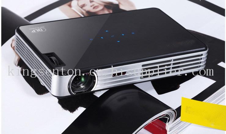 3D投影机1080P迷你掌上短焦微型投影仪高清家用 ,600流明投影机