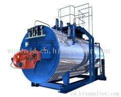 全自动燃油(气)热水锅炉