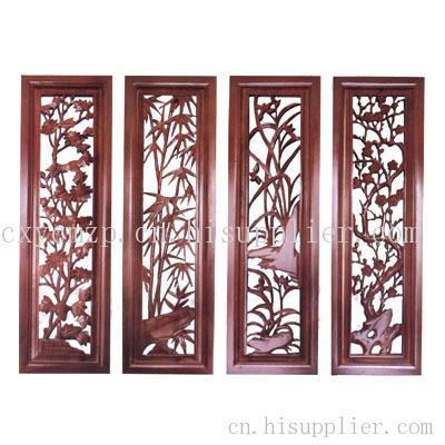 中式木制雕刻