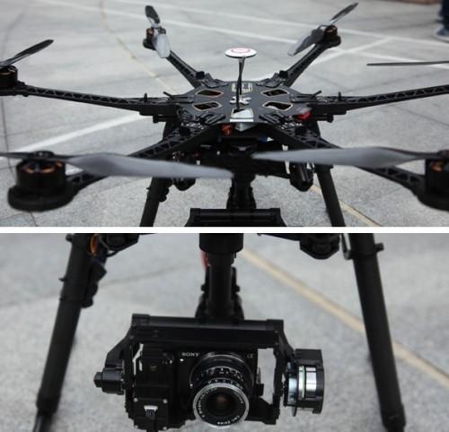 多旋翼航拍飞行器航拍案例